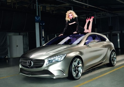 Terry Richardson for Mercedes-Benz Summer Visuals with Jessica Stam