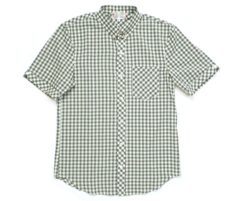 Left Field Short Sleeve Button Down Shirts