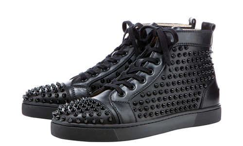 Christian Louboutin All-Black 'Louis' Sneaker, Pre-Fall 2011