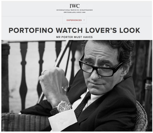 IWC x MR PORTER | Portofino Watch Lover's Look