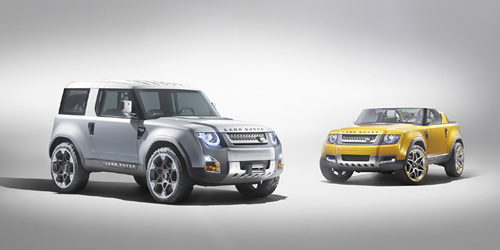 Land Rover Defender DC100 & DC100 Sport Concept Video