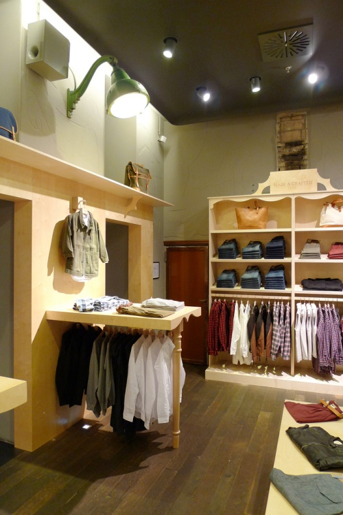Now Open | Levi's Made & Crafted Rome Shop-in-Shop