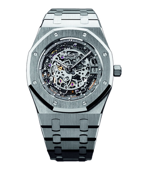 Audemars Piguet Openworked Extra-Thin Royal Oak 40th Anniversary