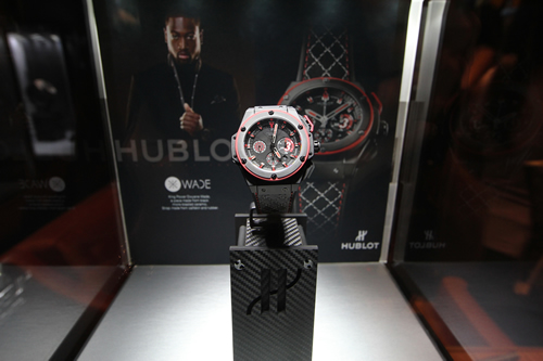 Hublot Bal Harbour Boutique Opening with Dwayne Wade
