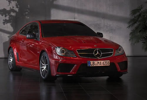 Mercedes-Benz C63 AMG Coupe Black Series Commercial