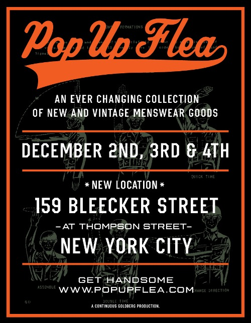 The Pop-Up Flea at 159 Bleecker Street