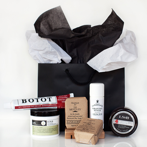 Por Homme x The Motley Grooming Kit of Essentials for Men