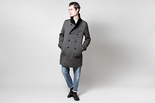 ts(s) Italian Tweed Chesterfield Coat