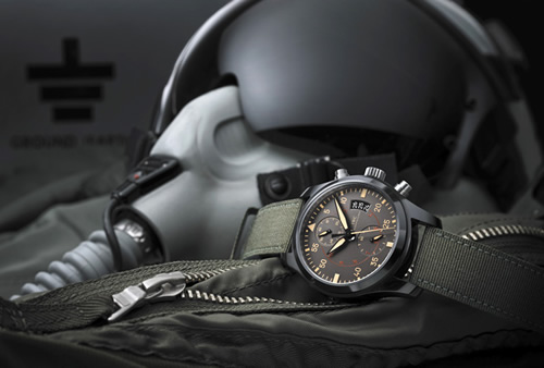 IWC Pilot Chronograph Top Gun Miramar at SIHH 2012
