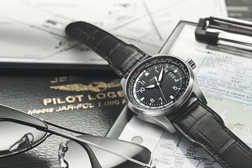 IWC Pilot's Watch Worldtimer at SIHH 2012