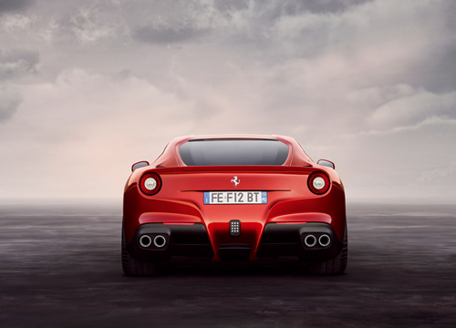 Ferrari F12 Berlinetta Unveiled Ahead of Geneva Motor Show