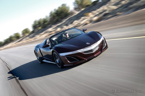 Acura NSX Roadster from The Avengers - Inside Line