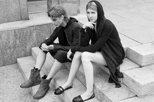 Rick Owens Spring/Summer 2012 Lookbook by Aloha Rag