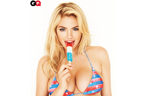 Kate Upton by Terry Richardson for GQ July 2012