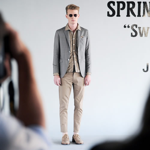 J.Lindeberg Spring/Summer 2013 at New York Fashion Week