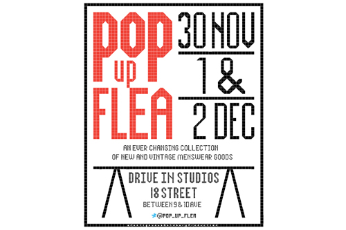 Menswear in NYC | 5th Annual Pop Up Flea