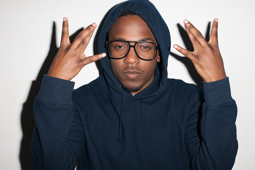 Kendrick Lamar at Terry Richardson's Studio