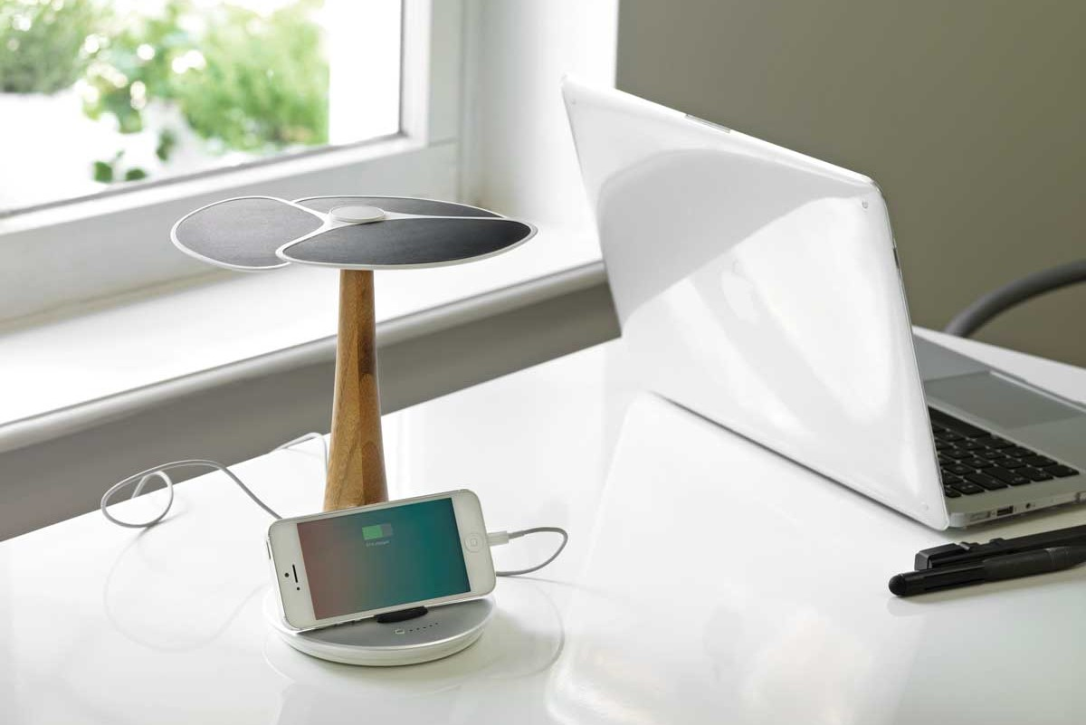 Ginkgo Solar Tree Charger 6