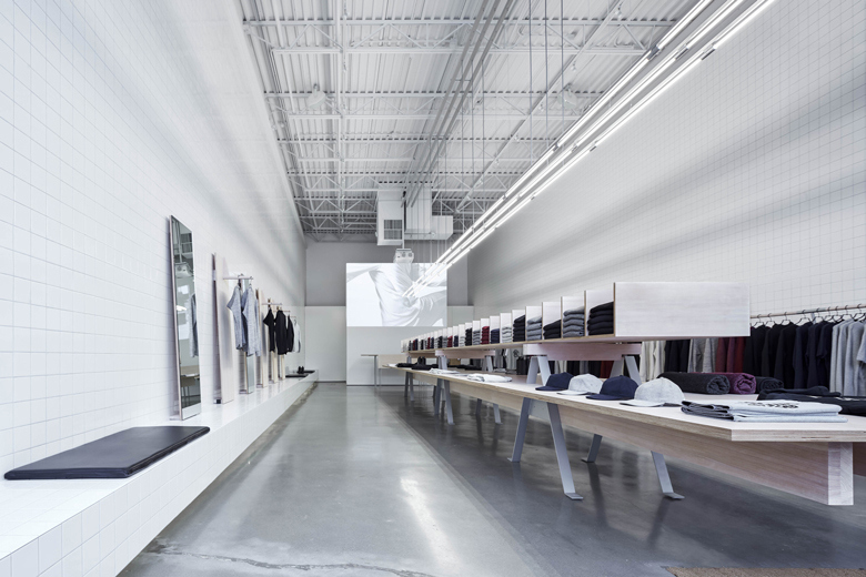 Reigning Champ Store - Peter Cardew Architect