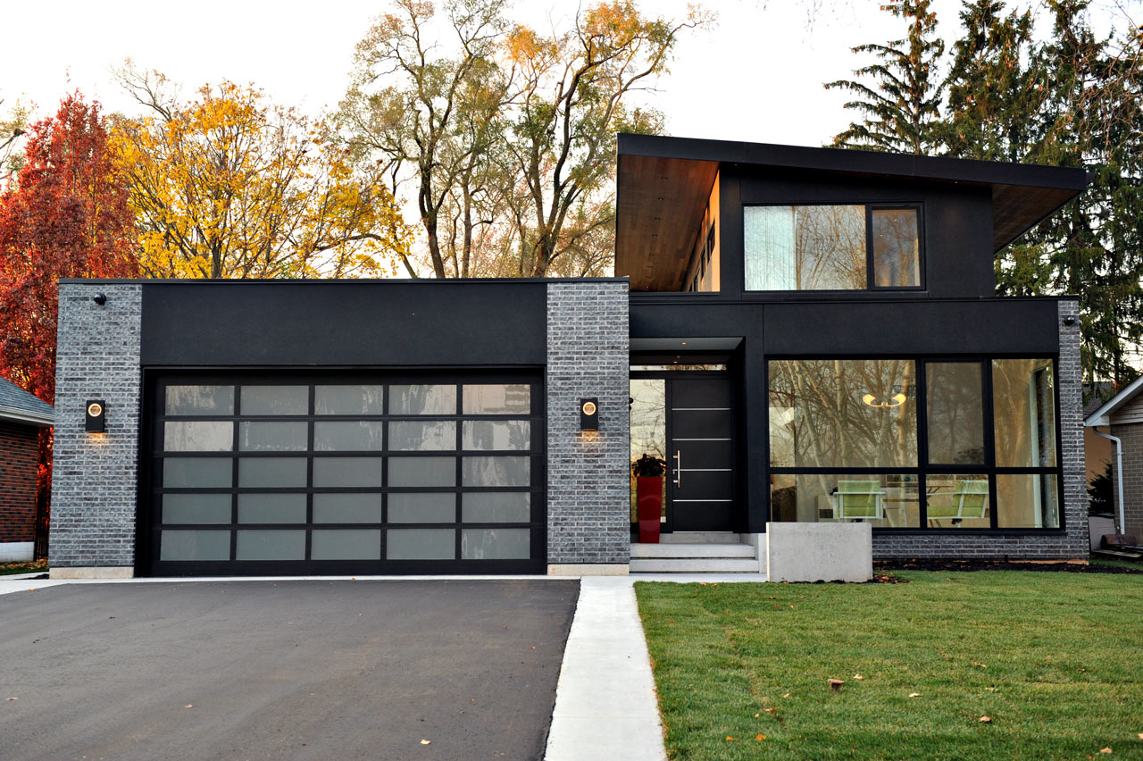 The burlington glass house by danny cantarelli for New contemporary houses