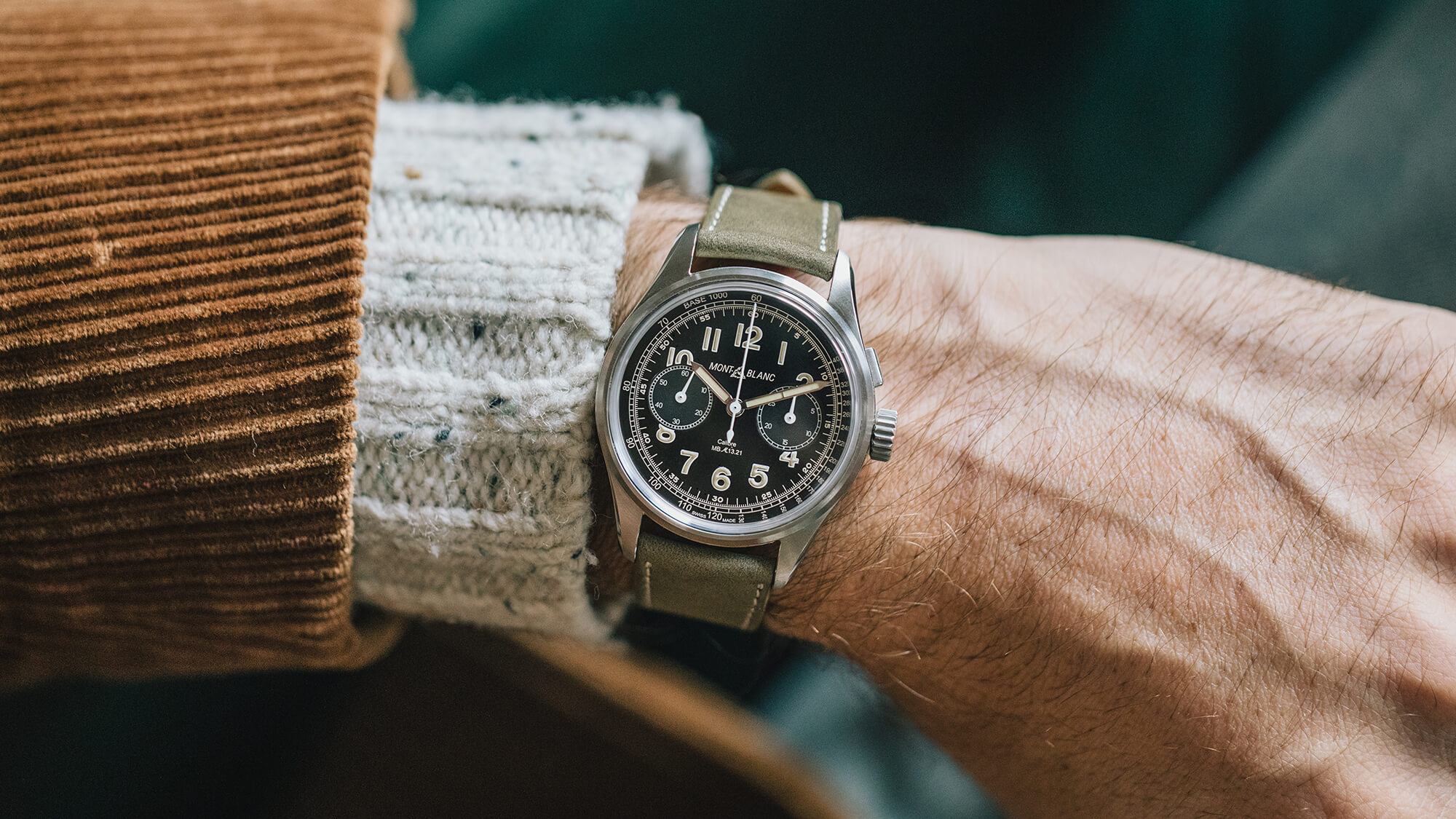 The HODINKEE x Montblanc 1858 Monopusher Watch Comes with a Trip to Montblanc Headquarters in the Jura Mountains