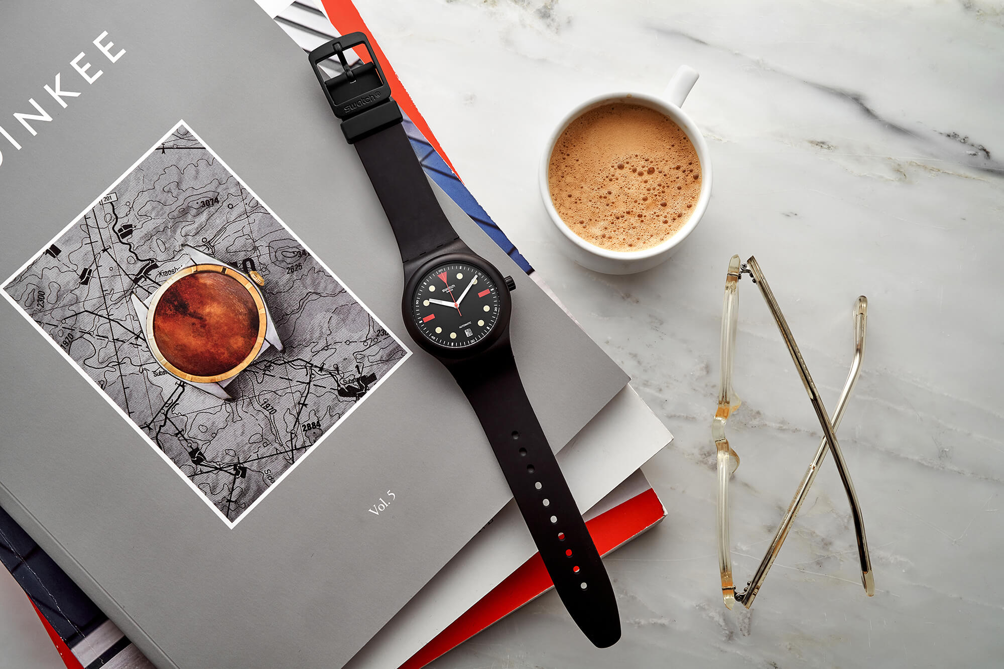 Swatch Sistem51 HODINKEE Generation 1986 Is Inspired by the 80s Emerald Diver
